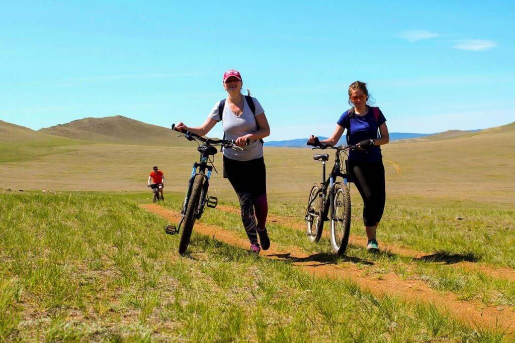 Поход на велосипедах Байкал
