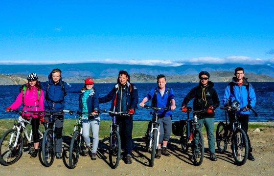 Велопоход на Байкале летом