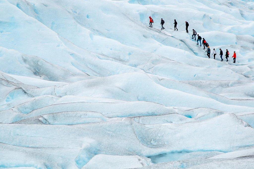 Ледник перито Морено Аргентина Патагония