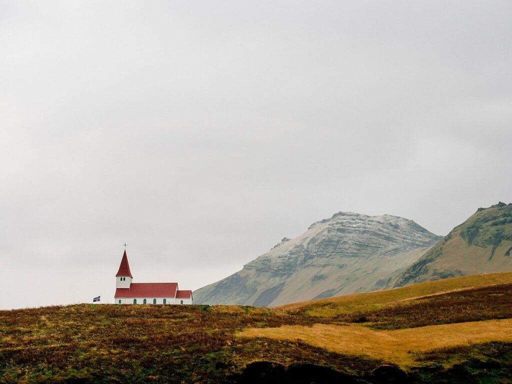 Путешествие по Исландии: церковь в Вике