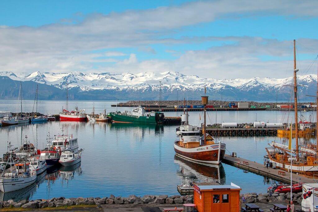 Путешествие по Исландии: город Хусавик