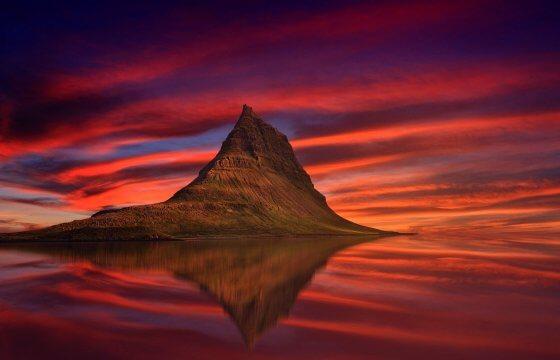 Путешествие по Исландии гора Киркьюфетль