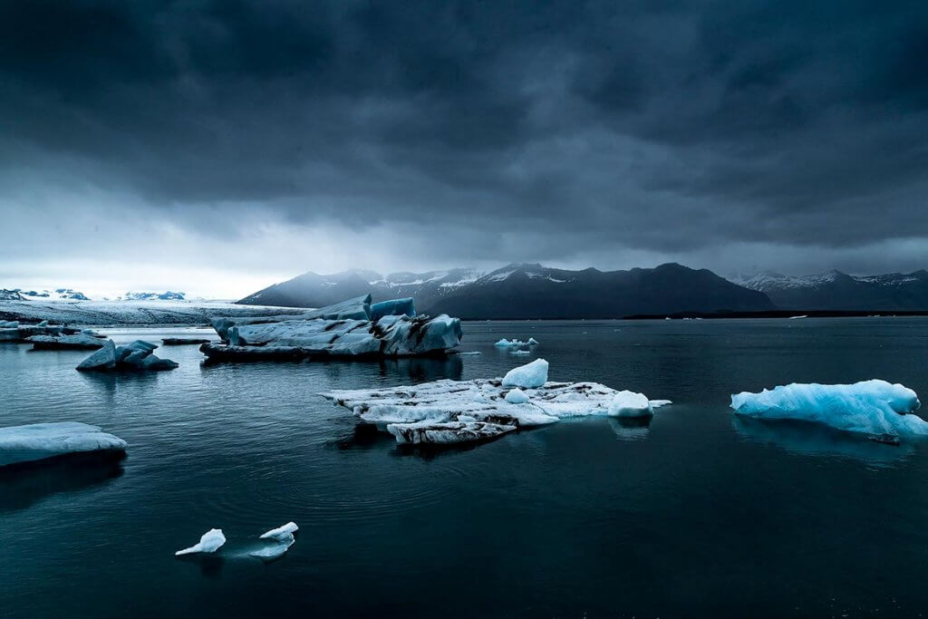 Путешествие по Исландии: ледниковая лагуна
