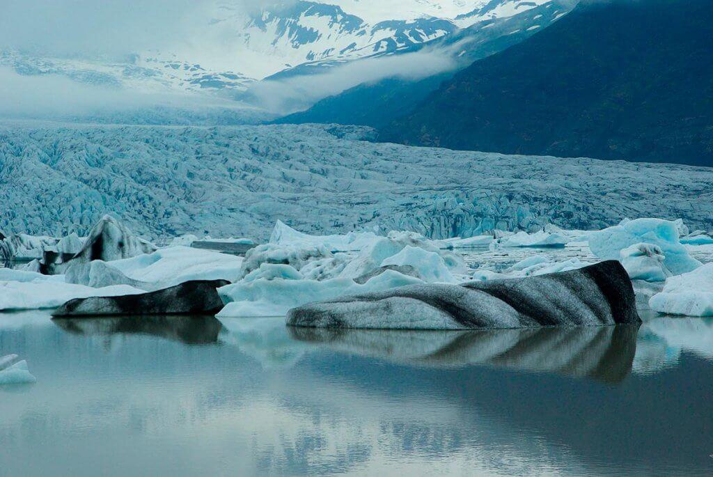 Путешествие по Исландии: ледник Ватнаёкюль