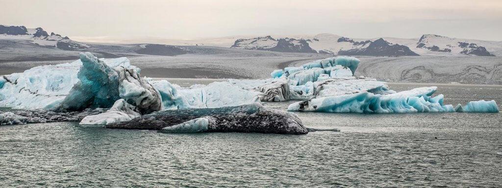 Путешествие по Исландии: ледниковая лагуна Йёкюльсаурлоун