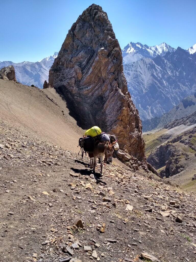 горы киргизия трек