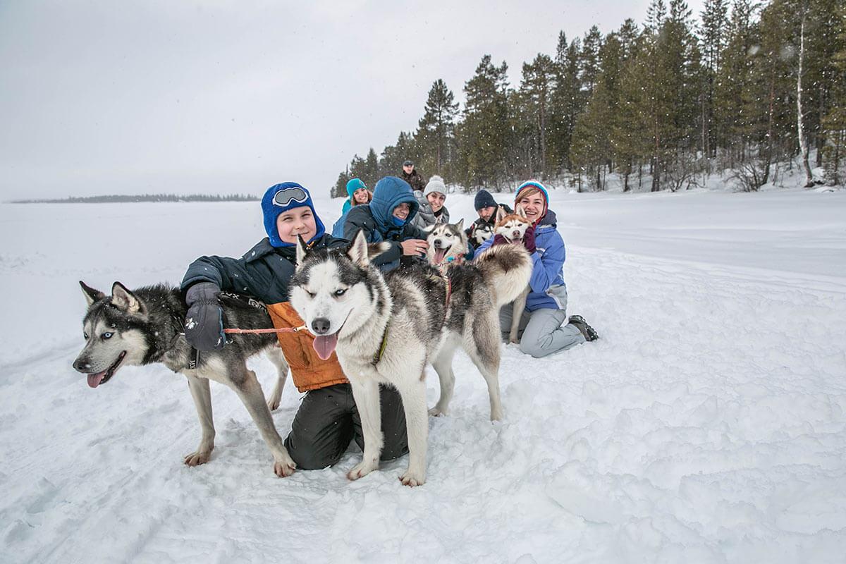 Тур зимой