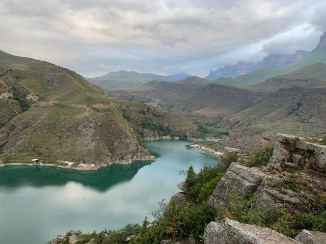 Приэльбрусье Озеро Гижгит Эльбрус