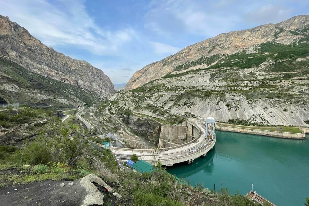 Метлинская ГЭС Дагестан
