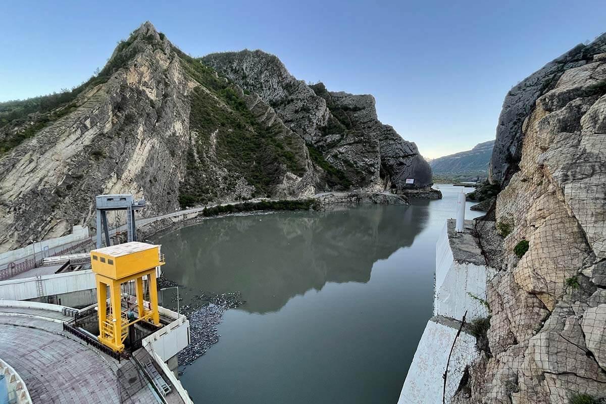 Гуннская ГЭС Дагестан