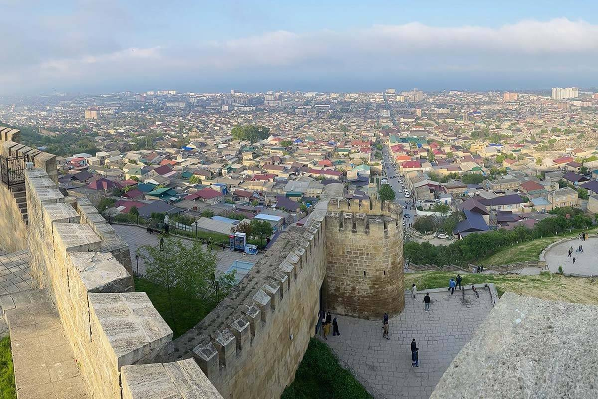 Цитадель Нарын-Кала Дербент Дагестан
